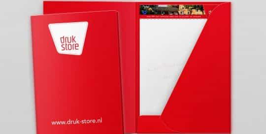 Voorbeeld presentatiemappen van Druk-store