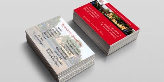 Voorbeeld visitkaartjes van druk-store