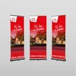 Foto voorbeeld van roll-up banners van Druk-store