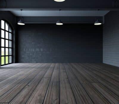 kamer zonder behang